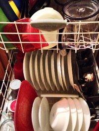 naczynia w zmywarce